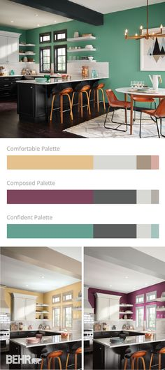 It's everyone's favorite time of year—the 2017 Color Trends are here! With neutral shades ideal for traditional styles, bolder hues for that perfect pop of color, and soft pastels to bring a feminine feel to your space, find your new on-trend home design inspiration with these three stunning paint color palettes.