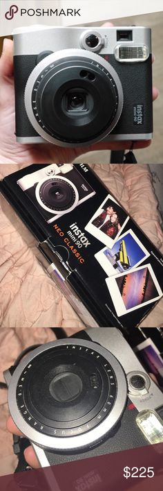 Instax mini 90 Neo classic Almost new ! Perfect condition! I've only used like 3 times since I have the Polaroid printer now. I paid $258 for this ! ( when it first came out) I take reasonable offers ! Comes with box and charger ! Listing is high since I'd like to get close to what I paid for it since it's been used only a few times/ no damages! Thank you ! Other