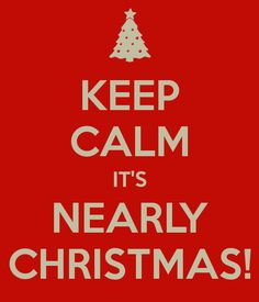 It's almost Christmas time!