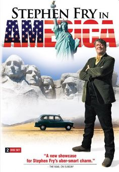 Stephen Fry in America. Stephen Fry, His Book, and His Take on California