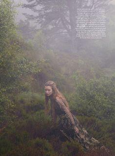 Josephine Skriver by Yelena Yemchuck for Harper's Bazaar, De 2012