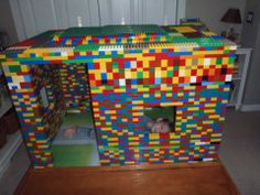 Kid Inspiration - All for the Boys - Fort Friday: LEGOEdition