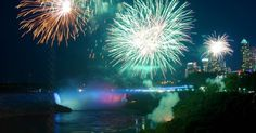 Niagara Falls Fireworks every Friday night.