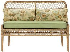 $500. Cape Cod Outdoor Bench - Outdoor Bench - Wicker Bench - Outdoor Dining Bench - Outdoor Dining Furniture | HomeDecorators.com