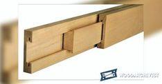 Making Wooden Drawer Slides - Drawer Construction and Techniques - Woodwork, Woodworking, Woodworking Tips, Woodworking Techniques