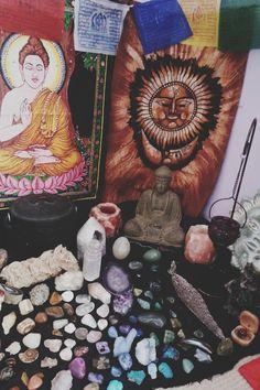 Corner spot to pray and meditate