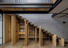 Delfino Lozano's RR House features an under-stair larder