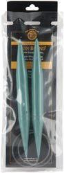 Circular Knitting Needles 29in Size 35 (19mm) Green