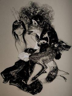OcéanoMar - Art Site / Drawings by Russian born Vania Zouravliov.