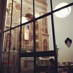 Cappella del Voto in San Domenico. I seggi sono chiusi. #Perugia2019 foto di @paraihc