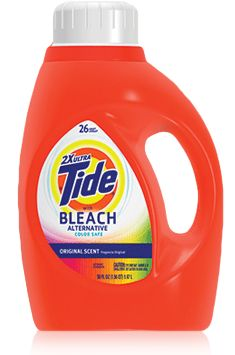 Tide 2X Ultra with Color Clean Bleach Alternative: The top scorer in Consumers' Reports tests for washing away tough stains.