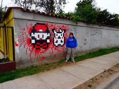 Perler Street art