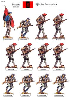 Loading Image Poster On, Poster Prints, Spain History, Spanish War, Paper Toy, Red Vs Blue, Military Figures, Mystery Of History, Toy Soldiers