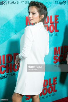Isabela Moner arrives for the premiere of CBS Films' 'Middle School: The Worst Years Of My Life' - Arrivals at TCL Chinese 6 Theatres on October 5, 2016 in Hollywood, California.