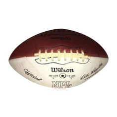 Vintage Autographed New England Patriots Football ($300) ❤ liked on Polyvore featuring home, home decor, decor, vintage home decor and vintage home accessories