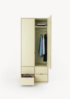 Wardrobe in Wasabi Green by Kuja Studio Studio, Green, Furniture, Collection, Home Decor, Decoration Home, Room Decor, Studios, Home Furnishings