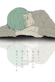 【思ひつつ 寝ればや人の 見えつらむ 夢と知りせば 覚めざらましを/小野小町】 一期一振 #刀剣男士和歌企画