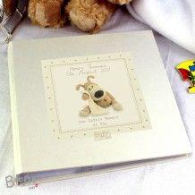 Personalised Boofle Baby Album with Sleeves  #babyshower #baby #gifts #album #keepsake