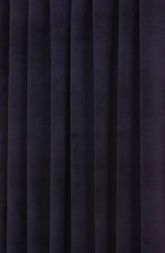 Hilton Velvet Oxford Blue Made to Measure Curtains, from £137 per pair