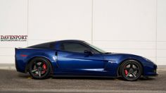 Davenport Motorsports built this C6 Corvette Z06 with their 660HP Naturally Aspirated Pkg, including Lingenfelter heads & cam, American Racing Headers, and MSD Atomic intake. It rides on Baer Brakes, Michelin Pilot Super Sport tires, and Forgeline CF3C Concave wheels finished with Matte Black centers & Satin Black outers. See more at: http://www.forgeline.com/customer_gallery_view.php?cvk=1592  #Forgeline #CF3C #notjustanotherprettywheel #madeinUSA #Chevrolet #Corvette #C6…