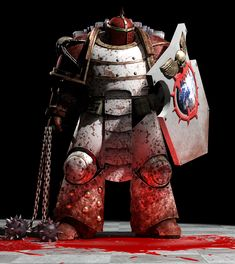 World Eaters Astartes Elite, the World Eaters are renowned melee fighters, in fact they prefer it, spilling blood and taking the skulls of their foes