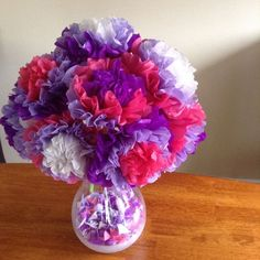 Picture of Easy Tissue Paper Flowers