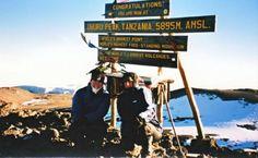 Kilimanjaro peak.