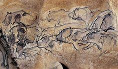 """""""Pinturas de la Cueva de Chauvet"""" (30, 000 a. C.)"""