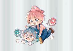 Anime Chibi, Kawaii Anime, Anime Art, Super Hero Life, Kaito, Furry Art, Guys And Girls, Anime Guys, Manga