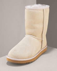 Classic Short Boot, Sand by UGG Australia at Neiman Marcus.