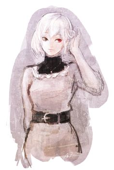 Kaneki Female - Girl - Tokyo Ghoul