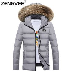 36.47$  Watch here - http://air2d.worlditems.win/all/product.php?id=32769708562 - 2017 Mens Coats Jackets New Aarrive Brand Jackets Men Warm Padded Winter Overcoat Windproof For Male Wadded Coats