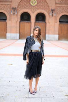20 Ways Stylish Women Are Wearing Tulle Skirts #StreetStyle