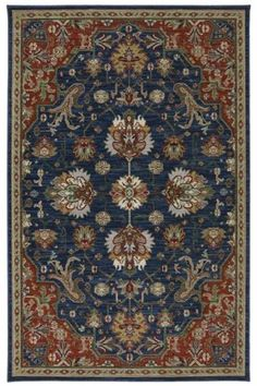 Karastan Area Rug, Studio by Karastan Crossroads Duval Indigo Wool Area Rugs, Fine Carpets, Rugs, Karastan, Bohemian Area Rugs, Colorful Rugs, Area Rugs, Rugs On Carpet, Machine Made Rugs