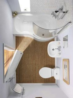 Small bathroom design ideas and home staging tips for small spaces - Wohnung - Badezimmer Bathroom Layout, Modern Bathroom Design, Bathroom Interior Design, Bathroom Ideas, Bathroom Inspiration, Bathroom Designs, Shower Ideas, Diy Bathroom Remodel, Shower Remodel