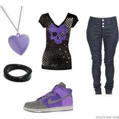 emo clothing for girls Cute Emo Outfits, Scene Outfits, Punk Outfits, Outfits For Teens, Emo Clothes For Girls, Skater Outfits, Disney Outfits, Punk Fashion, Fashion Wear