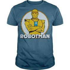 I Love DC Robotman Shirts & Tees