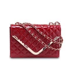 women alligator Patent PU leather handbags small messenger bags