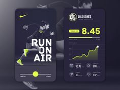 Daily UI Nike You are in the right place about creative App Design Here we offer you the most beautiful pictures about the iphone App Design you are looking for. When you examine the Daily UI Ni Web And App Design, Ui Ux Design, Interface Design, Web Design Mobile, Nike Design, Sport Design, Flat Design, User Interface, Design Trends