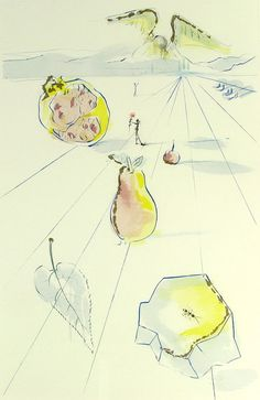 Salvador Dali, Song of Songs of Solomon, 1971