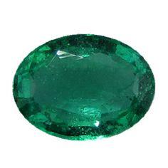 1.12 ct Oval Emerald Grass Green -Gold Crane & Co.