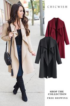 Search results for: 'open coat' - Retro, Indie and Unique Fashion Fall Winter Outfits, Autumn Winter Fashion, Spring Outfits, Fashion Fall, Casual Work Outfits, Cute Outfits, Mode Unique, Pinterest Fashion, Fashion Outfits