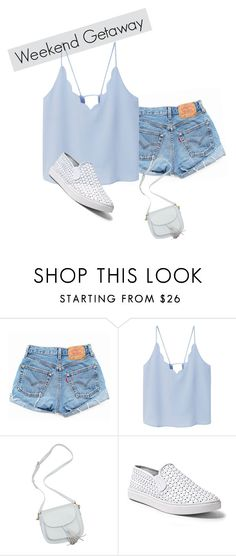 """""""Hey"""" by rusher-decorazon on Polyvore featuring moda, Levi's, MANGO y Steve Madden"""