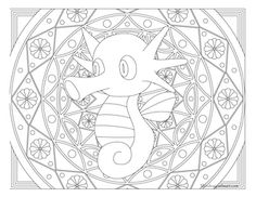 Free printable Pokemon coloring page-Horsea. Visit our page for more coloring! Coloring fun for all ages, adults and children. Horse Coloring Pages, Pokemon Coloring Pages, Colouring Pics, Free Coloring, Adult Coloring Pages, Coloring Pages For Kids, Coloring Books, Coloring Sheets, Pokemon Craft