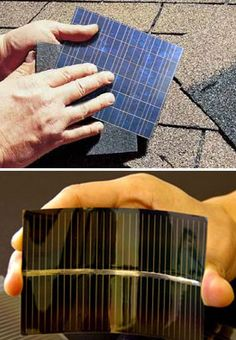 How awesome! I want an entire roof of solar power shingles. Maybe by the time they're on the market, I'll have a roof to put them on!
