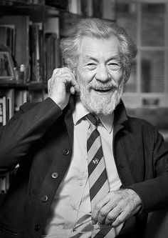 Lord, I pray for Sir Ian McKellen. I know he is gay, and that that must break you heart. Please help him see your light, that you designed marriage as one male one female. Help him to come to a saving knowledge of you. In you name I pray, Amen