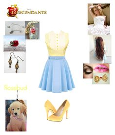 """""""Belinda Beast - Daughter of Queen Bell and King Adam (The Beast)"""" by maxinehearts ❤ liked on Polyvore featuring Retrò, Michael Antonio, Emma Watson, Once Upon a Time, disney, OC and Descendants"""