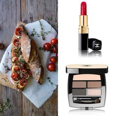 Just a perfect weekend....make up, pomodori e relax!