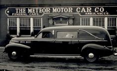 1940 Cadillac Hearse