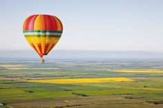 Goldrush Ballooning from Strathalbyn. 30 mins from Mulberry Lodge.